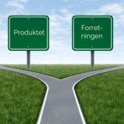 Produktet eller forretningen